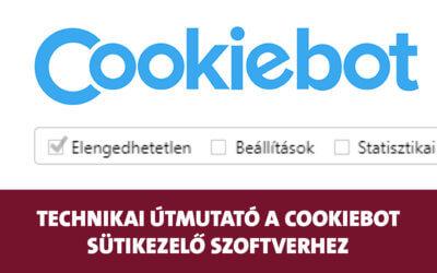 Technikai útmutató: Hogyan készítsd el a süti sávot, és hogyan kezeld a sütiket Cookiebottal?