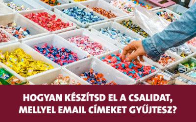 Hogyan készítsd el az ingyenes csalidat, mellyel email címeket gyűjtesz?