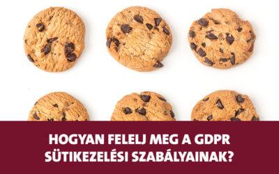 Hogyan felelj meg a GDPR szabályainak, ha sütiket (cookie-k) használsz az oldaladon?